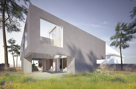 Semipatio House