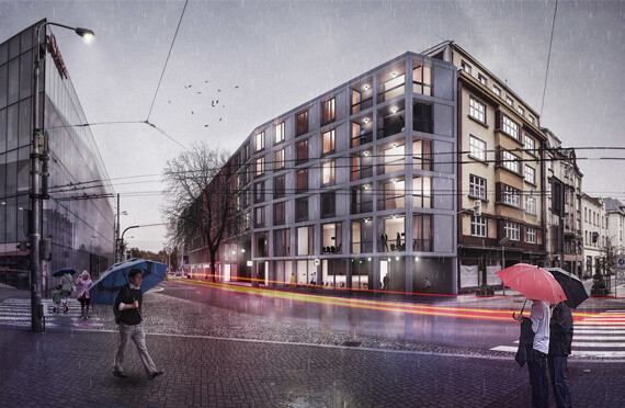 Apartment house in Ostrava